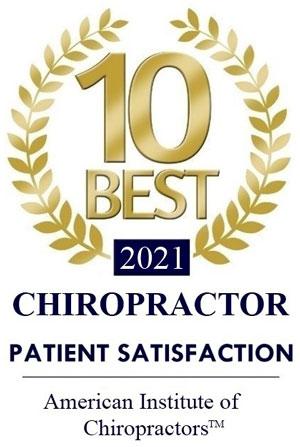 Chiropractic Lenexa KS Patient Satisfaction Award 2021